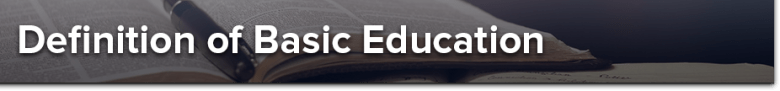 What Is Basic Education?