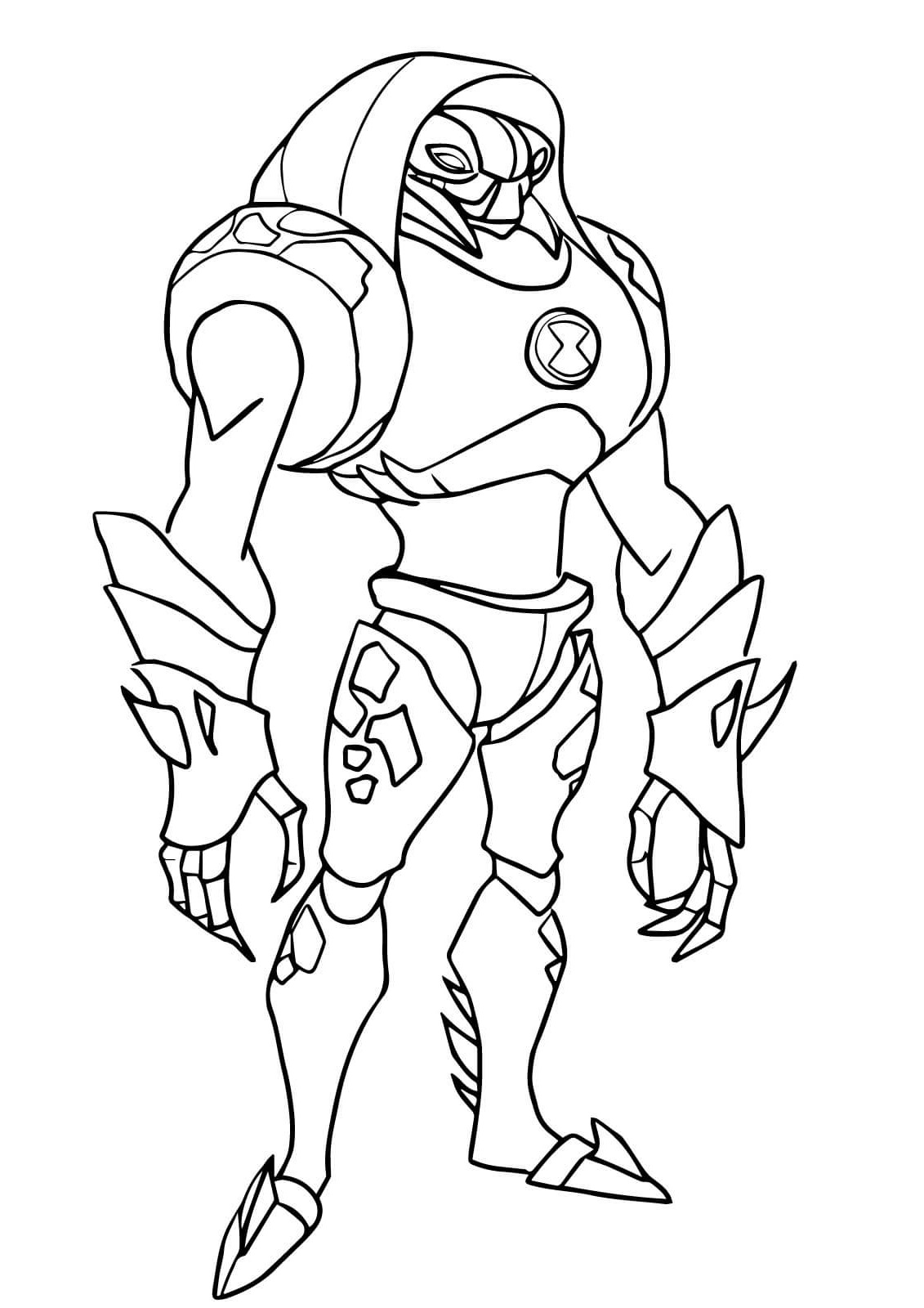 Ben 10 Coloring Pages For Students