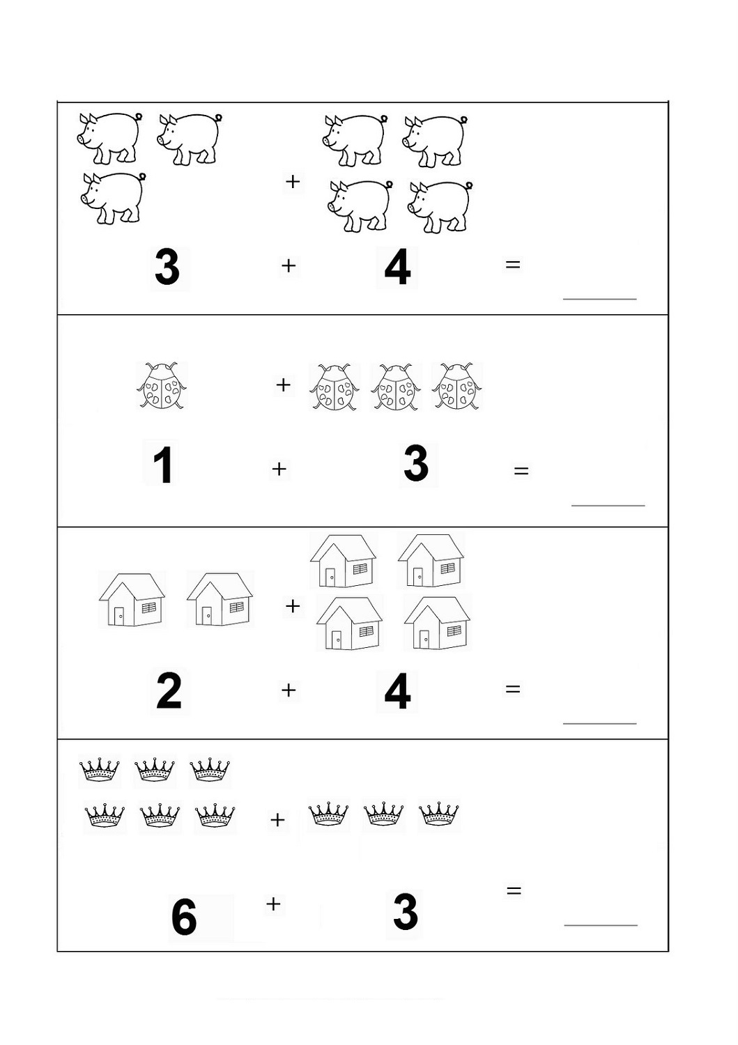 Free Math Worksheets For