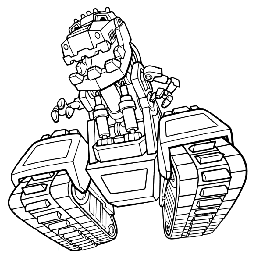 dinotrux coloring pages printable  educative printable