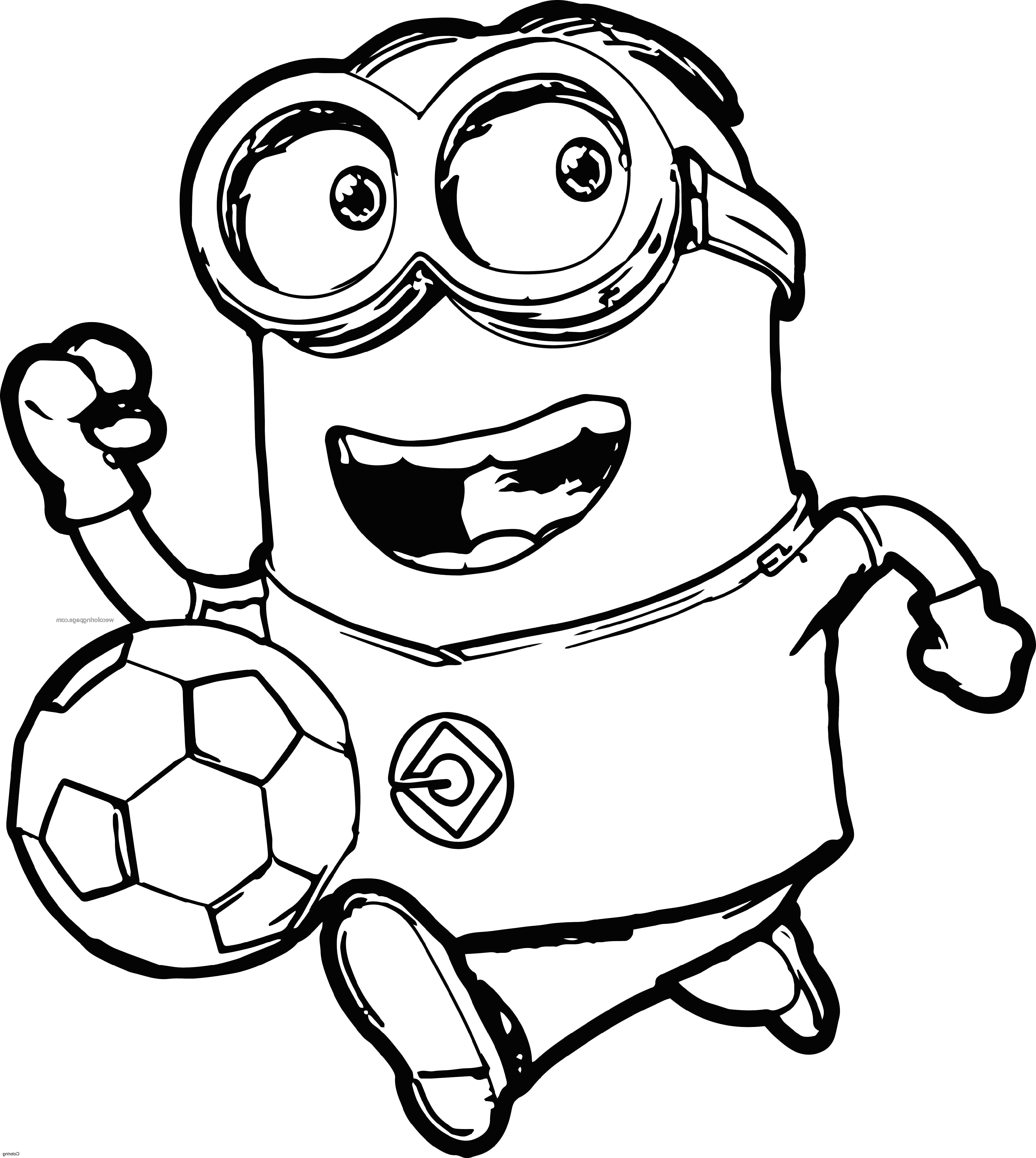 Minion Coloring Pages Bob All Versions And Poses