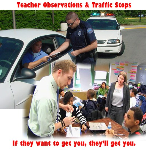 Teacher Observation and Traffic Stops