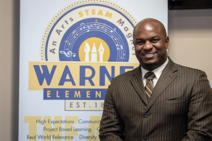 Ricki Gibbs II, serves as the principal of Warner Arts Magnet Elementary located in Metropolitan Nashville Public Schools