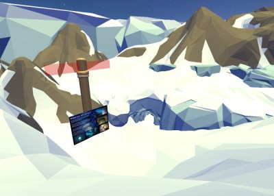 Ice Cave - The Last Glacier - Immersive Classroom by Lorelle VanFossen.
