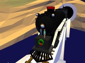 ASVR - Homer Polar Express Train