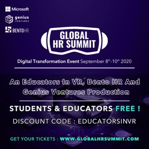 Global HR Summit- Free for Students and Educators.