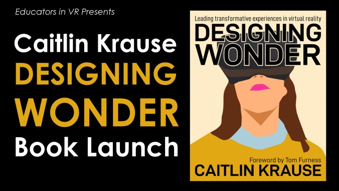 Book Launch Caitlin Krause Designing Wonder ASVR Tile