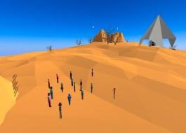 Educators in VR Rental World - EDVR Desert 1