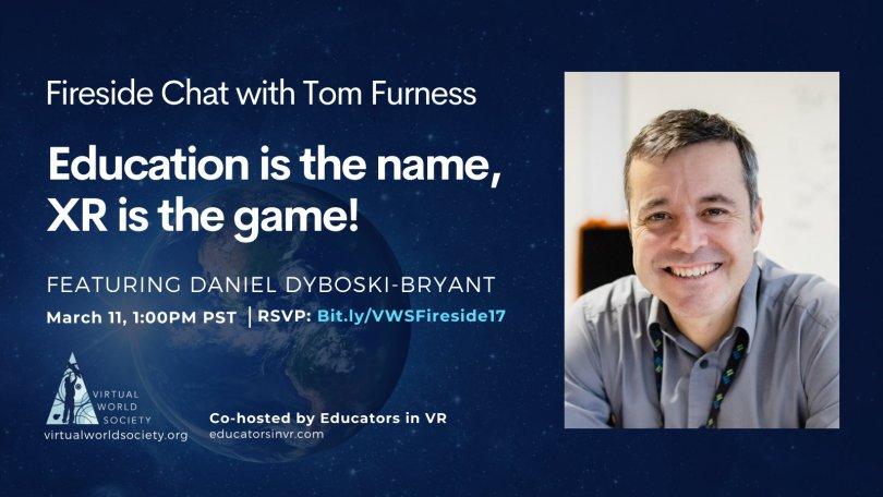 Daniel Dyboski Bryant Speaker at Virtual World Society Fireside Chat March 11 2021