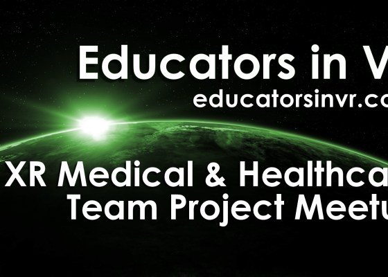 Educators in VR Medical and Healthcare Team Project