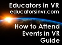 How to Attend Events in VR Guide.