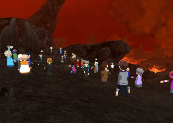 AltspaceVR Lava World