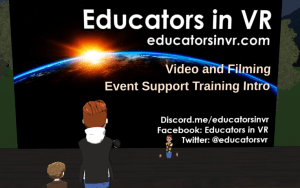Educators in VR Video Training Intro.