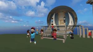 EDVR Virtual Schooling Team - Around the World event exploring landmarks with Unity photospheres of landmarks.