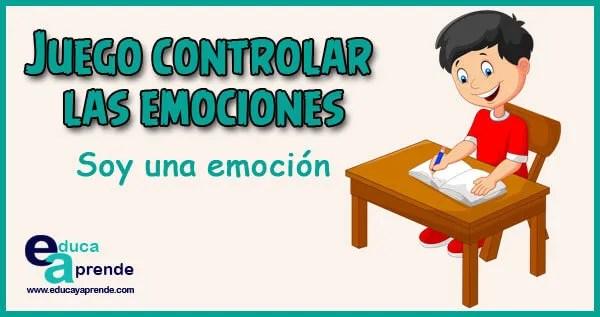 Juego para controlar las emociones