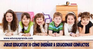 solucionar conflictos en niños