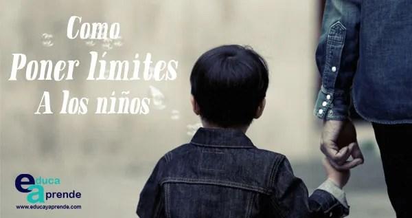 poner límites a los niños