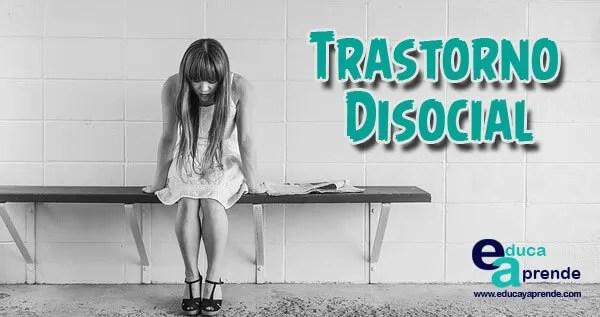 trastorno disocial, trastorno disocial infantil