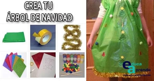 Como hacer un disfraz de árbol de navidad