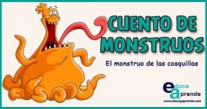 Cuento de monstruos, cuentos infantiles cortos, cuentos cortos para niños
