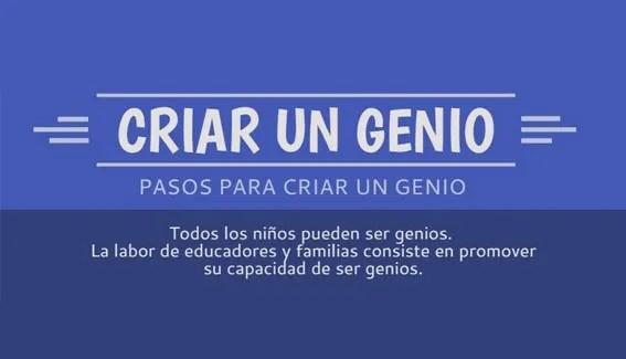 criar a un genio