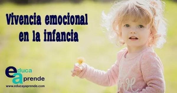 Vivencia emocional