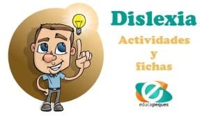 actividades dislexia, fichas dislexia
