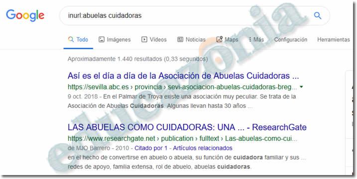 busquedas efectivas en google con URL