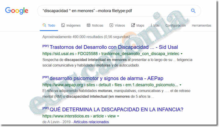 busquedas efectivas en google con filetype