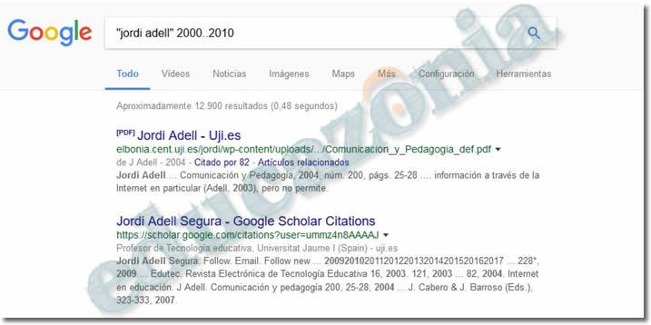 busquedas efectivas en google con rangos numéricos