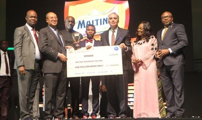 Delta State's Ariguzo emergesMaltina Teacher of the Year 2017