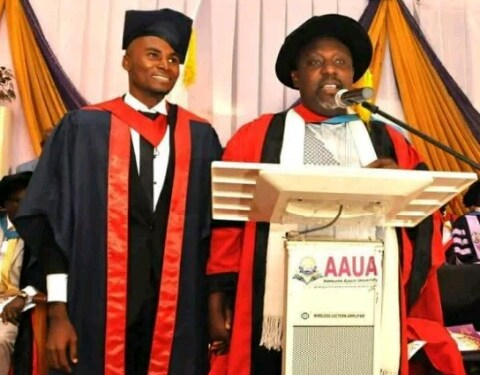 Rochas Okorocha gives AAUA best graduating student N500,000 for lunch
