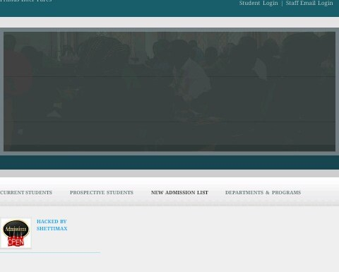 Gombe State University website hacked