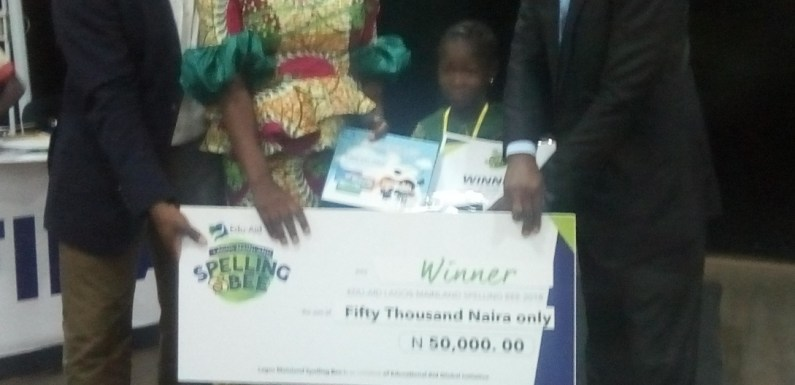 St Peters School wins maiden Lagos Mainland Spelling Bee Competition