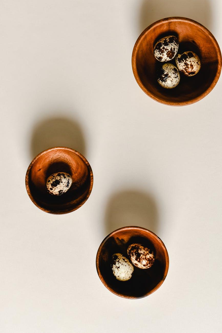 food wood art cup