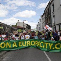 Yoann est revenu sur la mobilisation contre le projet Europa City le 21 mai