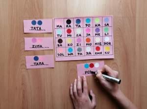 Sylabowe kodowanie – zabawa edukacyjna