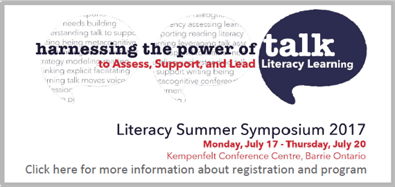 Literacy Summer Symposium 2017