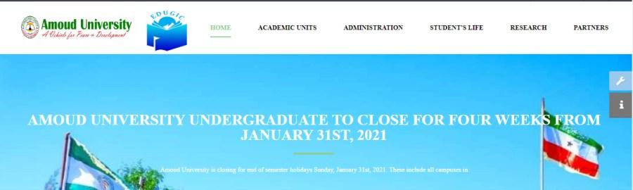 Amoud University Result 2021