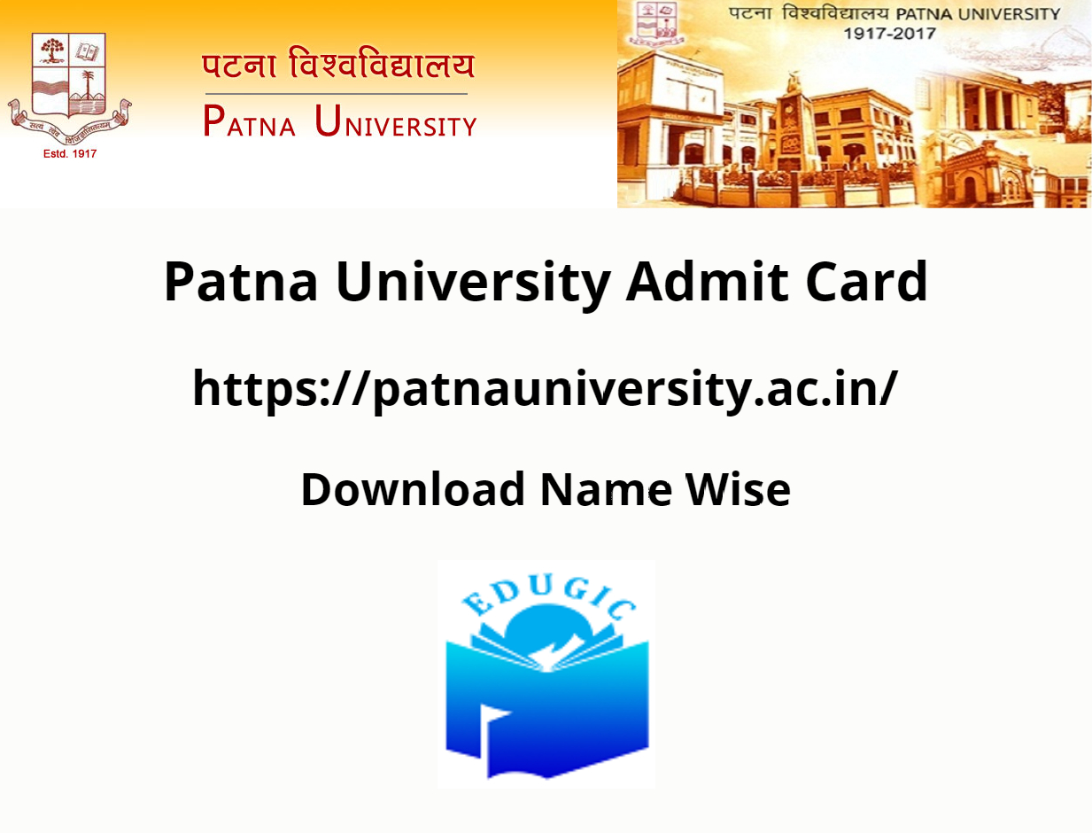 Patna University Admit Card 2021