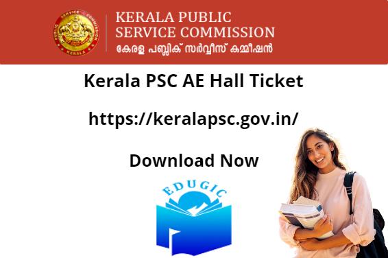Kerala PSC AE Hall Ticket 2021