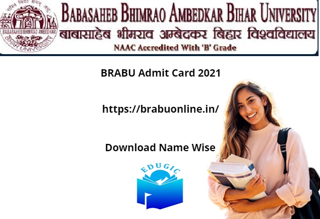 BRABU Admit Card 2021