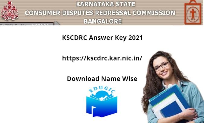 KSCDRC Answer Key 2021