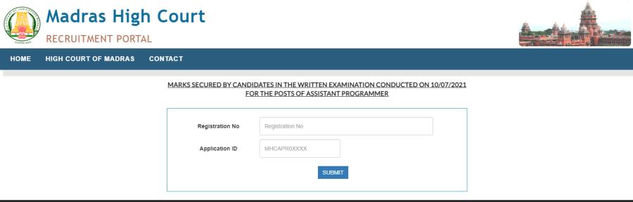 MHC Assistant Programmer Result 2021