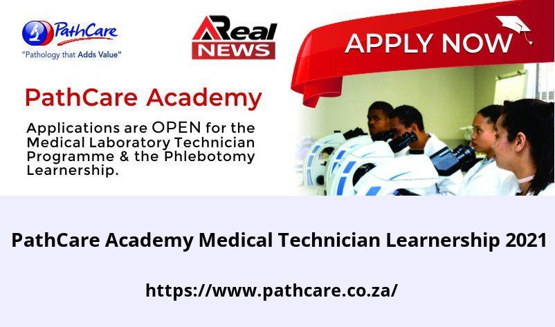 PathCare Academy Medical Technician Learnership 2021