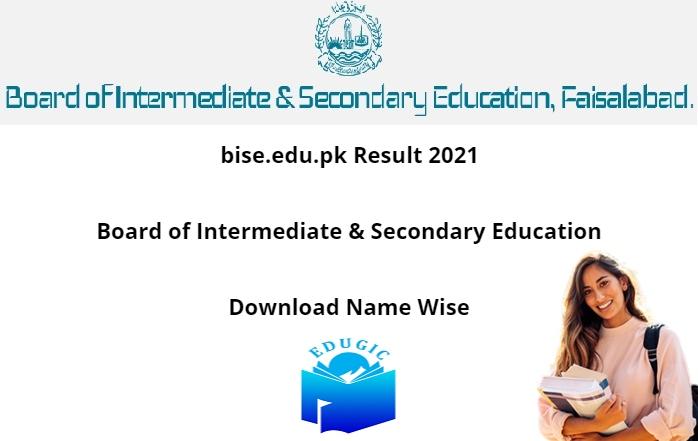 bise.edu.pk Result 2021