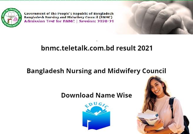 bnmc.teletalk.com.bd result 2021
