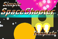 Construct 2 : Simple Space Shooter template.