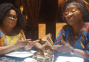 """Photo of Sola Sobowale And Patience Ozokwor On Set Of """"The Wedding Party 2"""""""