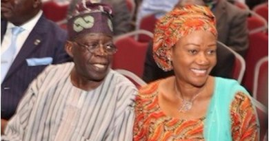 My husband was 'trashed' after helping APC win 2015 election -Tinubu's wife